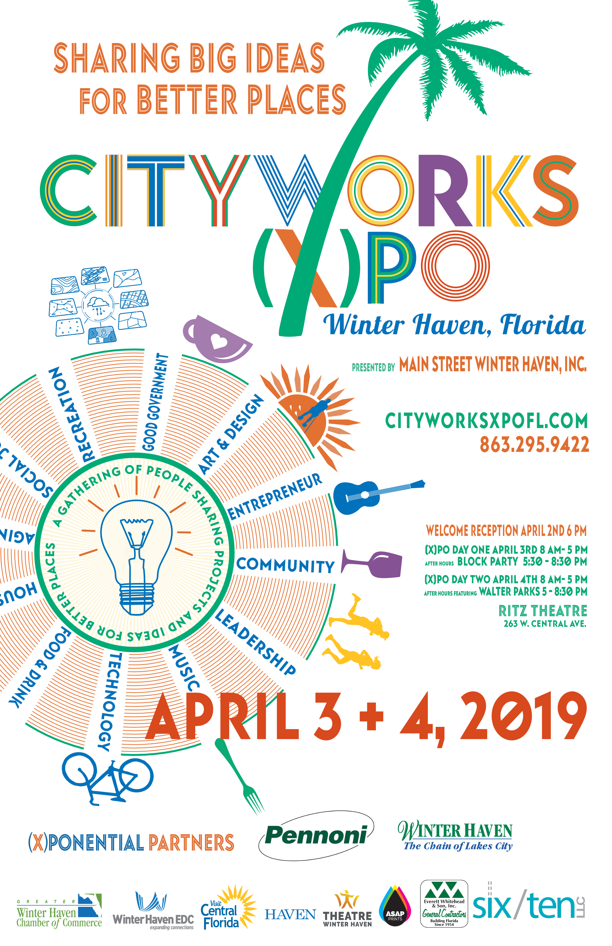 CityWorks(X)po Florida 2019 – Main Street Winter Haven